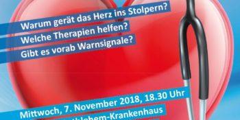 Vortrag über Vorhofflimmern mit Dr. Andreas Bootsveld