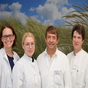 Team der Geburtshilfe am Bethlehem Gesundheitszentrum Stolberg