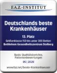 Deutschland beste Krankenhäuser - Platz 13